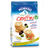 Monviso Bruschetta Green & Black Olives
