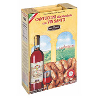 Pan Ducale Cantuccini & Dessert Wine Gift Box