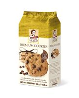 Vicenzi Double Chocolate Chunks Premium Cookies